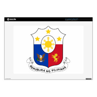 Coat_of_arms_of_the_Philippines Laptop Skin