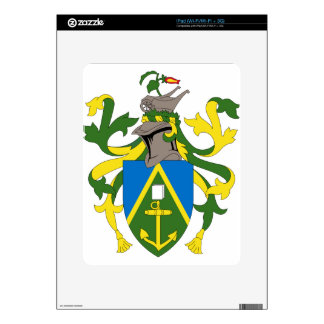 Coat_of_arms_of_the_Pitcairn_Islands iPad Decals