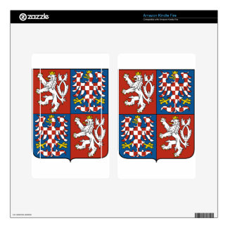 Coat_of_arms_of_the_Protectorate_of_Bohemia_and_Mo Skin For Kindle Fire