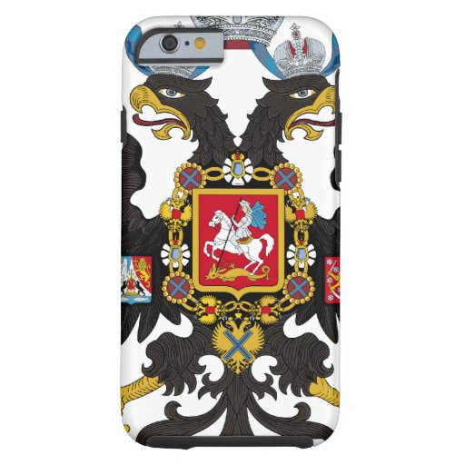 Coat of Arms of the Russian Empire iPhone 6 Case