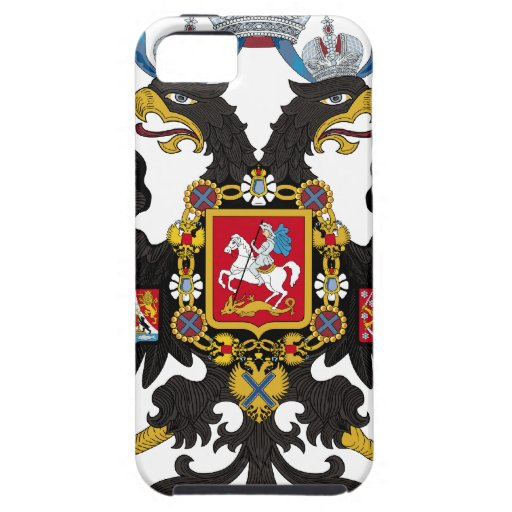 Coat of Arms of the Russian Empire iPhone 5 Case