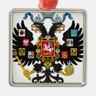Coat of Arms of the Russian Empire Metal Ornament