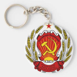 Coat_of_arms_of_the_Russian_Federation_ Llavero Redondo Tipo Pin