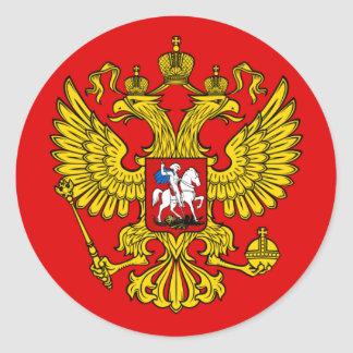 Coat of Arms of the Russian Federation Stickers