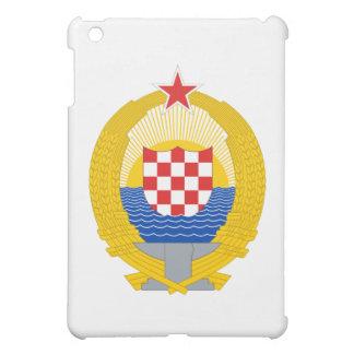 Coat of Arms of the Socialist Republic of Croatia iPad Mini Cases