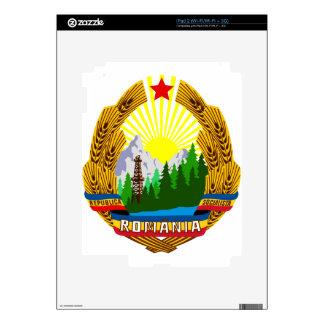 Coat_of_arms_of_the_Socialist_Republic_of_Romania. Skins Para iPad 2