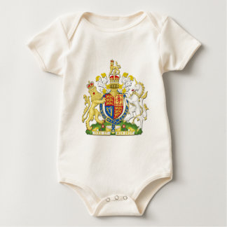 Coat Of Arms Of The United Kingdom Baby Bodysuit