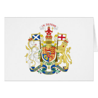 Coat of Arms of the United Kingdom in Scotland Card