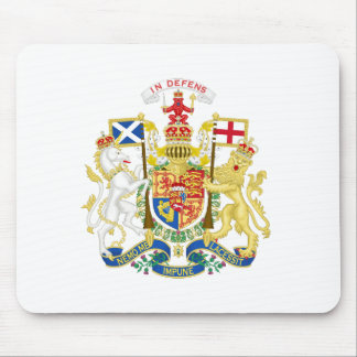 Coat of Arms of the United Kingdom in Scotland Mouse Pad