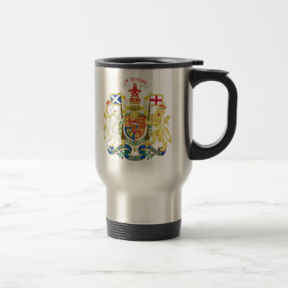 Coat of Arms of the United Kingdom in Scotland Coffee Mugs