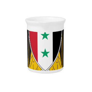 Coat_of_arms_of_United_Arab_Republic_(Syria Drink Pitcher