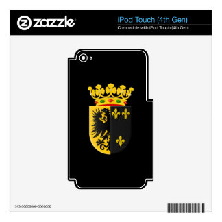 Coat of arms of Workum Skins For iPod Touch 4G