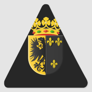 Coat of arms of Workum Triangle Sticker