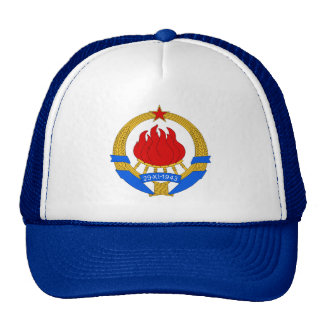Coat of Arms of Yugoslavia (1945-1992) Trucker Hat