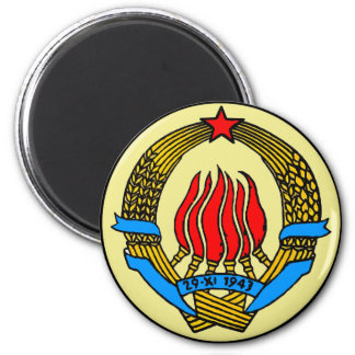COAT-OF-ARMS OF YUGOSLAVIA MAGNET