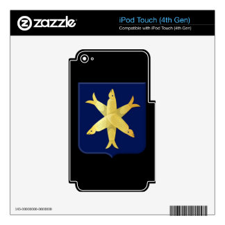 Coat of arms of Zandvoort Skins For iPod Touch 4G
