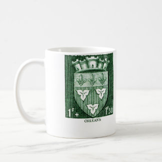 Coat of Arms, Orleans France Coffee Mug