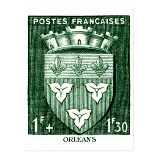 Coat of Arms, Orleans France Post Cards