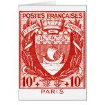 Coat of Arms Paris, France Cards