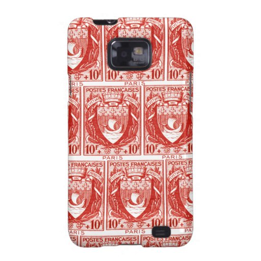 Coat of Arms Paris, France Samsung Galaxy S2 Covers