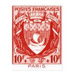Coat of Arms Paris, France Postcards