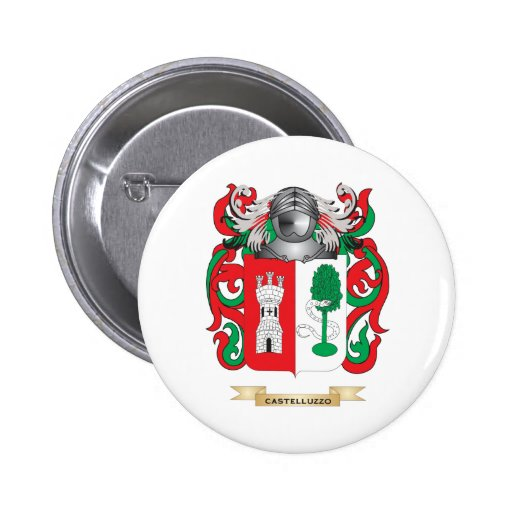 Coat of arms pinback button