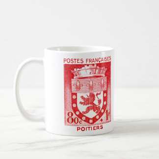 Coat of Arms, Poiters France Coffee Mug