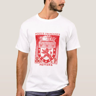 Coat of Arms, Poiters France T-Shirt