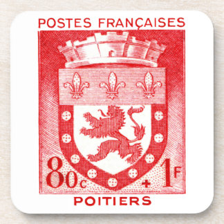 Coat of Arms, Poitiers France Coaster
