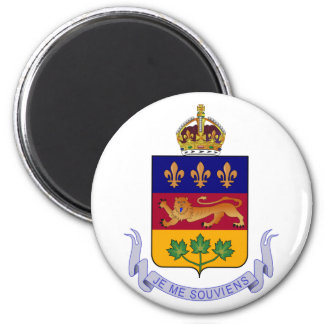 Coat of arms Québec Official Canada Heraldry Logo Magnet
