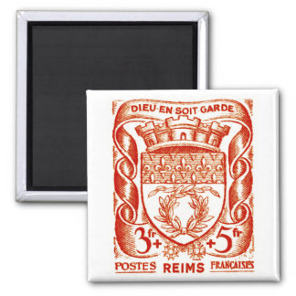 Coat of Arms, Reims France Magnet