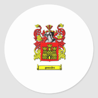 Coat of Arms Round Stickers