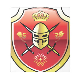 Coat of Arms Royal Knight logo Notepad