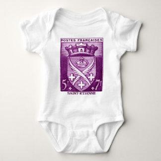 Coat of Arms, Saint Etienne France Baby Bodysuit