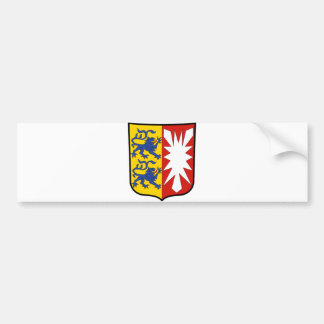 Coat of arms Schleswig-Holstein Official Germany Bumper Stickers