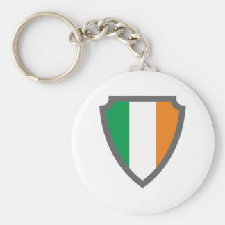Coat of arms sign hatchment Ireland Irish country  Basic Round Button Keychain