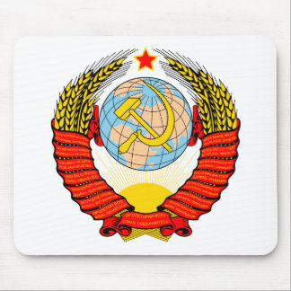 Coat of Arms Soviet Union Official Heraldry Symbol Mousepad