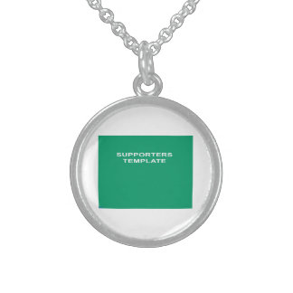 Coat of Arms Sterling Silver Necklace