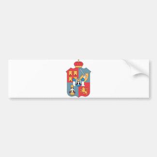 Coat of Arms Tabasco Official Mexico Heraldry Logo Bumper Sticker