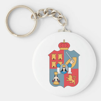 Coat of Arms Tabasco Official Mexico Heraldry Logo Key Chains