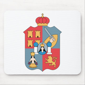 Coat of Arms Tabasco Official Mexico Heraldry Logo Mouse Pad