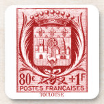 Coat of Arms, Toulouse France Coaster