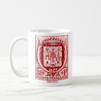 Coat of Arms, Toulouse France Coffee Mugs