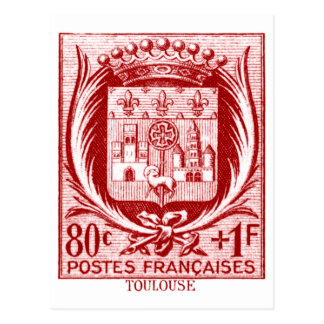 Coat of Arms, Toulouse France Postcards