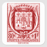 Coat of Arms, Toulouse France Sticker