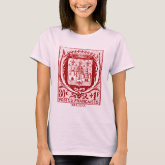 Coat of Arms, Toulouse France T-Shirt