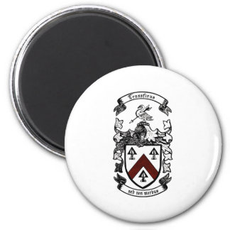 Coat of arms - Transfixus sed non morbus (redchev) Refrigerator Magnets