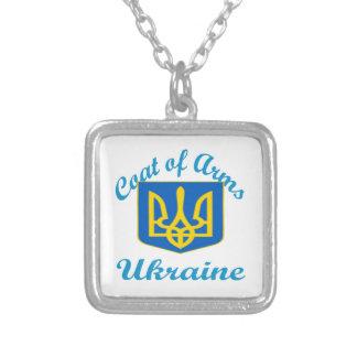 Coat Of Arms Ukraine Custom Necklace