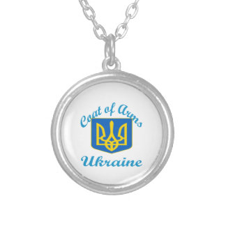 Coat Of Arms Ukraine Necklaces