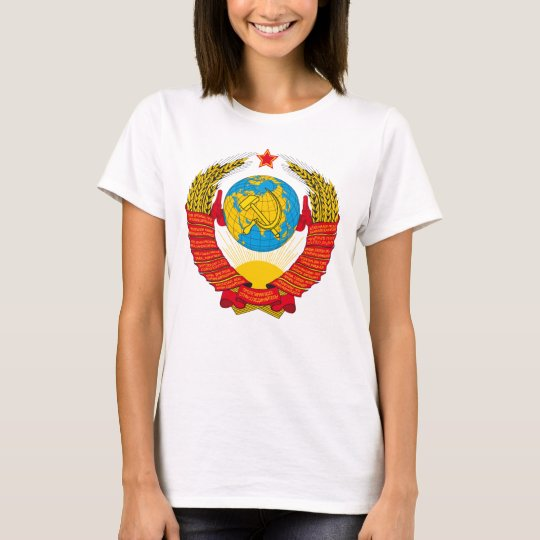 Coat of arms USSR CCCP USSR women Shirt